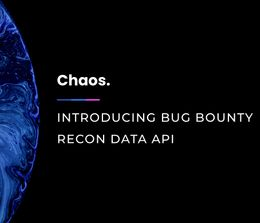Introducing Chaos Bug bounty recon data API