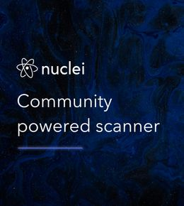 Community-powered scanning with Nuclei